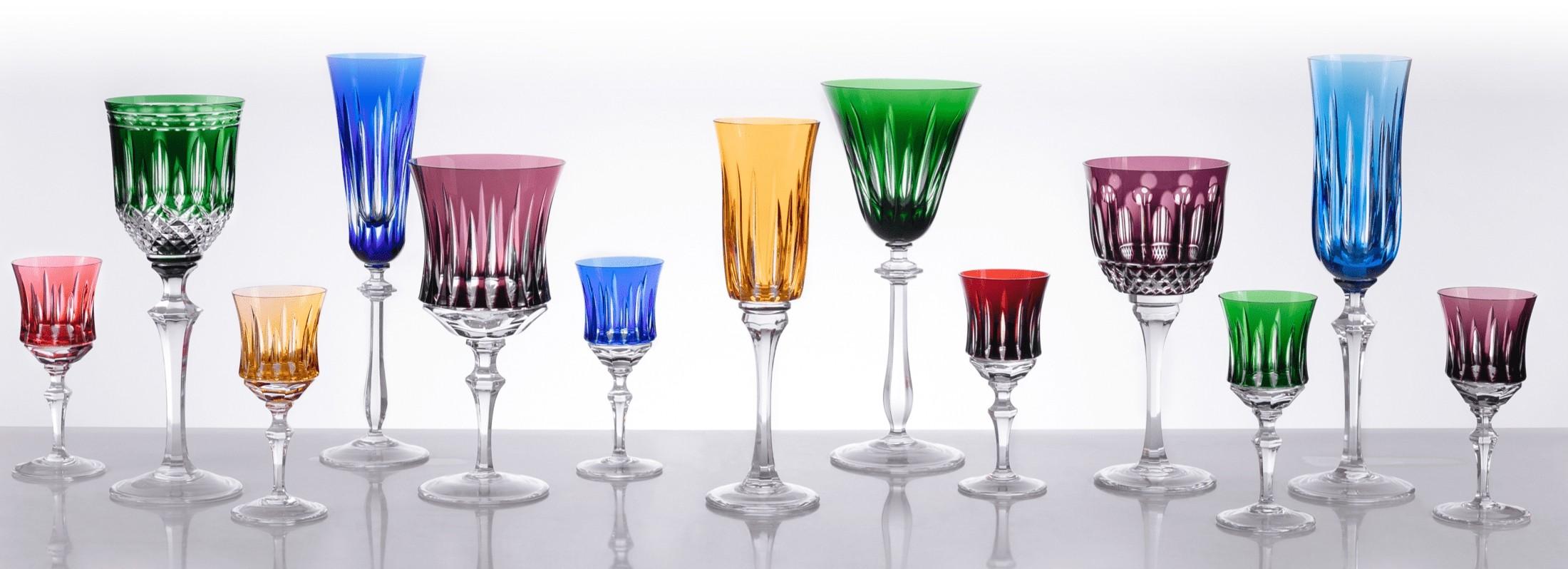 Taças de Cristal - Sottile Casa